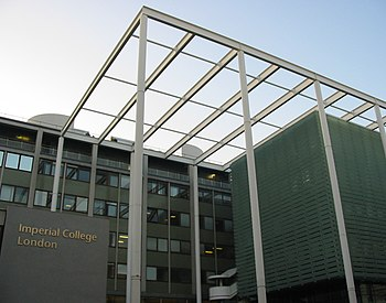 Imperial College London Exhibition Road frontage