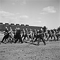 In het strafkamp te Vught, zijn 7000 Nederlandse collaborateurs en landverraders, Bestanddeelnr 900-4278.jpg