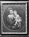 in pastorie, schilderij madonna met kind - boven-leeuwen - 20038986 - rce