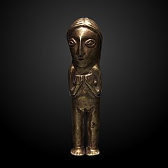 Inca female ritual figurine