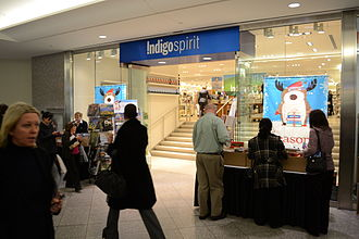 Indigo Books and Music - Indigospirit, Royal Bank Plaza in November 2010