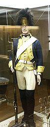 Originaluniform des Grenadier-Regiments von Augé (Quelle: Wikimedia)
