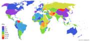 tingkat inflasi di dunia