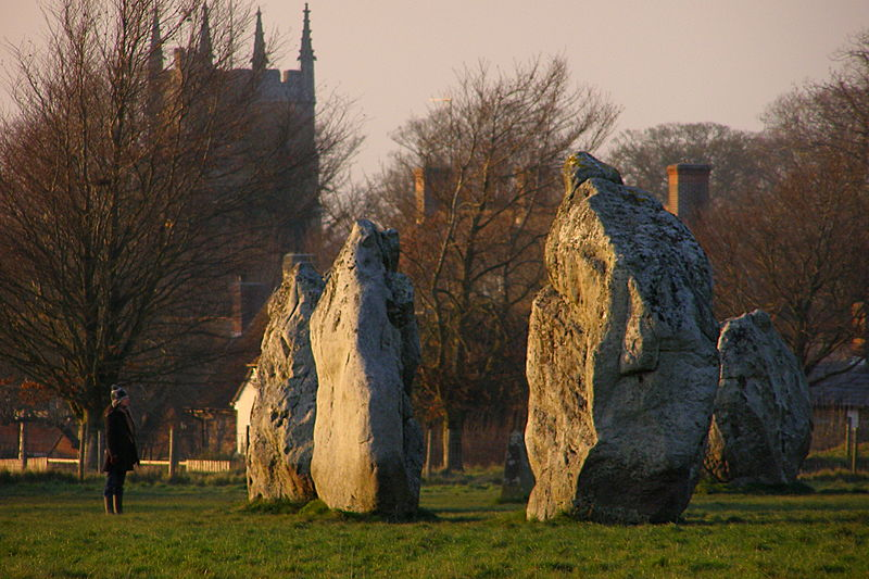 Photo of Avebury by Jim Champion (from Wikimedia Commons)