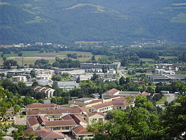 A general view of Montbonnot