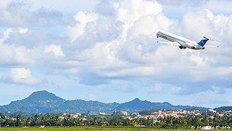 Insel Air - Insel Air McDonnell Douglas departing
