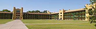 New Mexico Military Institute - Image: Inside Hagerman box