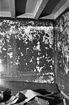 interieur- detail achterwand linker voorkamer - oostkapelle - 20175440 - rce