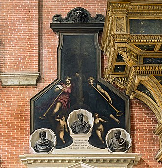 Palma il Giovane - Monument to Palma il Giovane Basilica di San Giovanni e Paolo