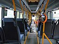 Interior of Scania bus in Tallinn.JPG
