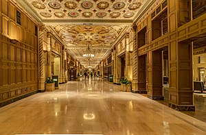 Son of a Gun (I Betcha Think This Song Is About You) - One of the hallways of the Biltmore Hotel featured in the video