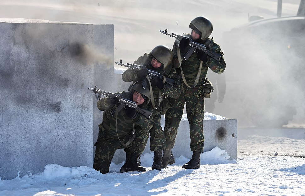 Internal troops special units counter-terror tactical exercises (12)