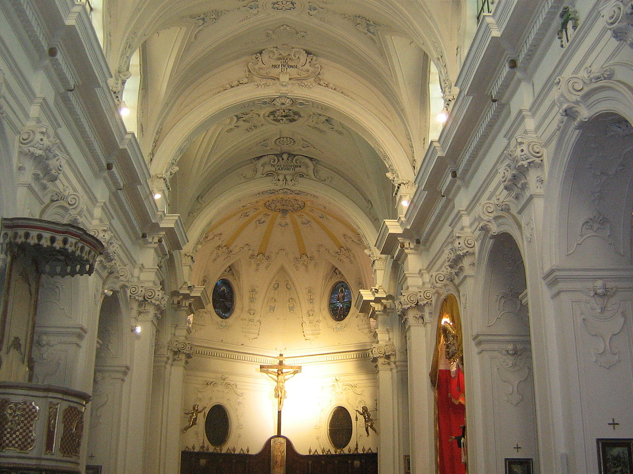 File Interno Chiesa Madre Wikimedia Commons