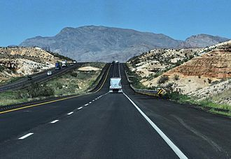 Interstate 15 - I-15 in Arizona