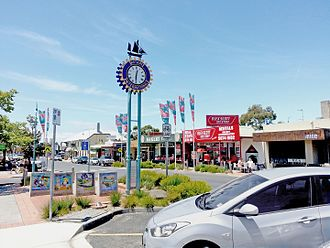 Inverloch, Victoria - Shopping Strip, Abeckett Street