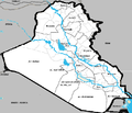 Iraq rivers and governorates.png