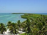 Mexico Isla en Quintana Roo..