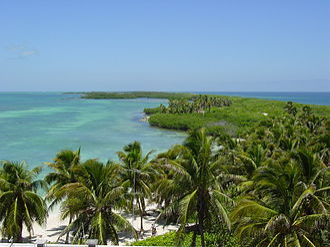 Quintana Roo - Beach of Contoy Island