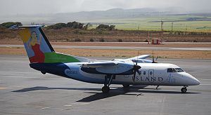 Island Air (Hawaii) - Dash 8-100 in the livery introduced in 2006