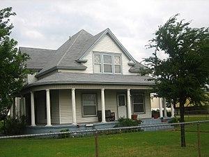 Scotland, Texas - J.H. Meurer House for Roman Catholic priests