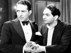 Two Seconds - Tony (J. Carrol Naish) and John (Edward G. Robinson) in Two Seconds