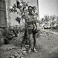 J. Vižintin s sinom, Fojana 1953.jpg