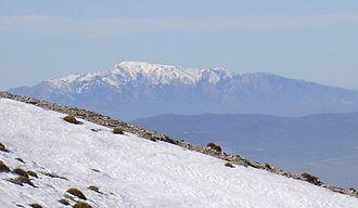 La Maroma - View of La Maroma in the winter
