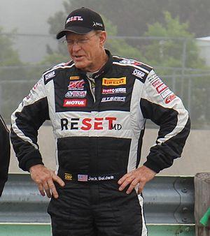 Jack Baldwin (racing driver) - Baldwin at a Pirelli World Challenge race at Road America in 2014