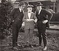Jack Warner, Monty Banks, Sam Warner - Jan 1922 EH.jpg