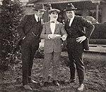 Jack Warner, Monty Banks, Sam Warner - Jan 1922 EH.jpg