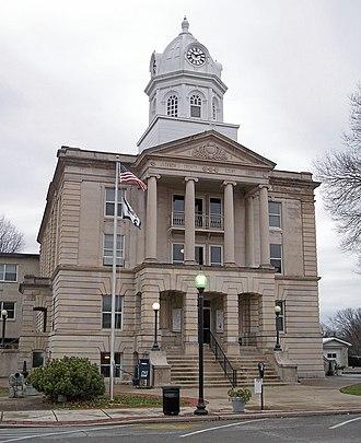 Jackson County, West Virginia - Image: Jackson County Courthouse Ripley