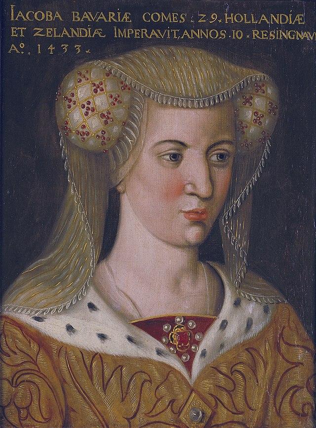 Jacoba van Beieren door Hollandse school ca 1600.jpg