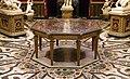 Jacopo Antelli detto il Monicca su disegno di Jacopo Ligozzi, Bernardino Poccetti e Baccio del Bianco, tavolo ottagonale con commesso in pietre dure, 1633-49 ca.jpg