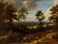 Jacques d'Arthois - View taken in Brabant with figures and animals.JPG