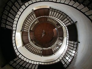 Granitz Hunting Lodge - Circular staircase in the central tower