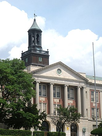Jamaica High School - Present building completed in 1927