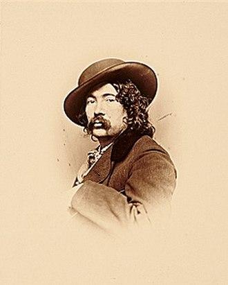 James McDougal Hart - James M. Hart (ca. 1865-1867). Photo by Rockwood.