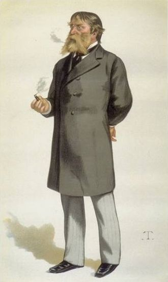 James Russell Lowell - Portrait of Lowell by Théobald Chartran, 1880