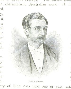James Smith (journalist) - An 1888 illustration of Smith