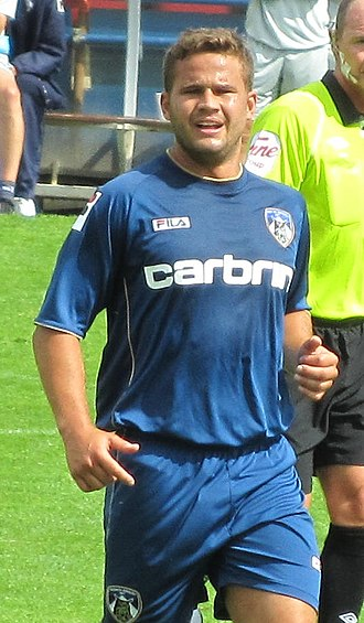 James Wesolowski - Wesolowski playing for Oldham Athletic in 2012