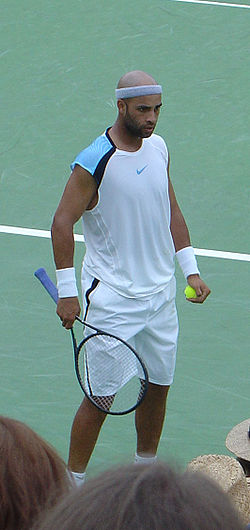 James Blake at the '06 US Open