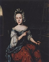 Portrait of Cornelia de Rijck at her Easel