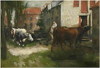 Jan Stobbaerts - To the stables.jpg