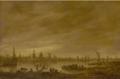 Jan van Goyen - Vianen, MdbK Leipzig, 1651.png