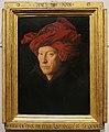 Jan van eyck, ritratto d'uomo, forse autoritratto, 1433, 01.jpg