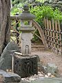 Japanese Garden (Schönbrunn; 'Tea garden' part, Tsukubai and Oribe style lantern) 20080613 059.jpg