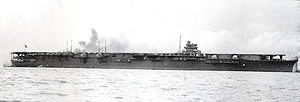 The Shōkaku shortly after completion in August 1941.