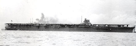 Japanese aircraft carrier Shokaku Japanese aircraft carrier shokaku 1941.jpg