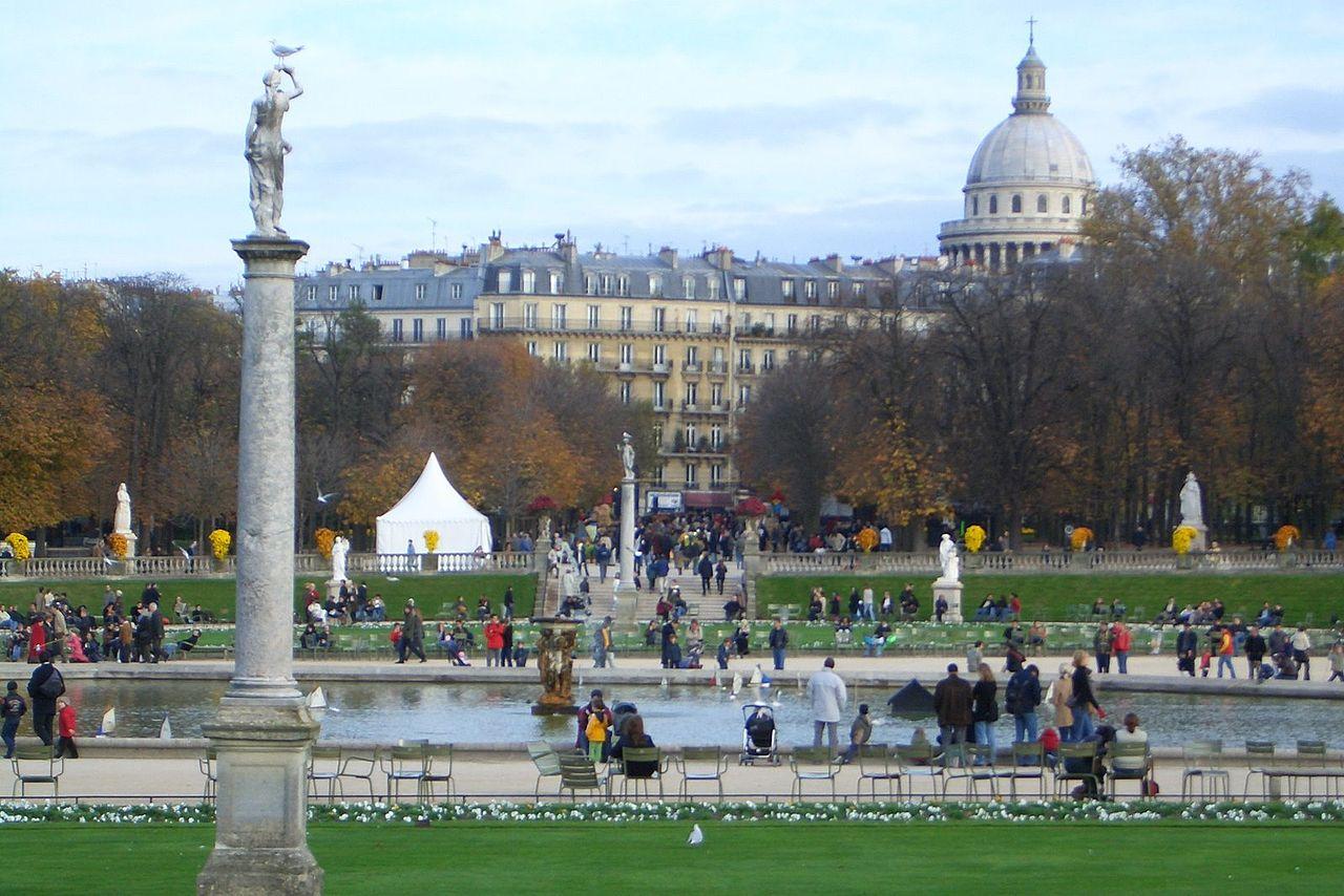 File Jardin du Luxembourg et Panth u00e9on jpg   Wikimedia Commons