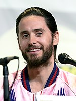 Photo of Jared Leto at the San Diego Comic-Con in 2016.